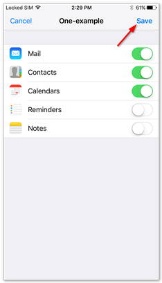 Disable notes and reminders