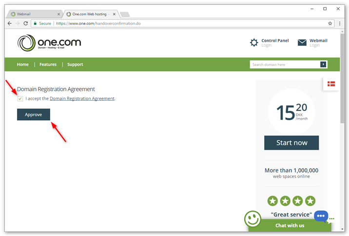 Change The Owner Of Your Subscription And Domain Support One Com