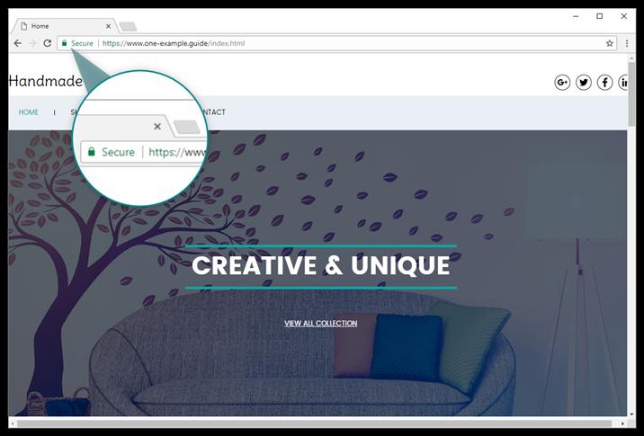 Your Website Builder website now shows in https