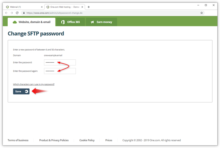 sftp-new-password-twice.png
